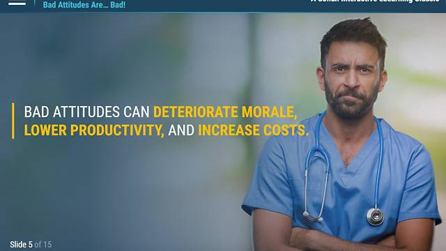 ATTITUDE!™ - Resolving Difficult Situations in the Workplace (Healthcare)