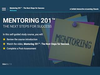 Mentoring 201™ The Next Steps for Success (eLearning Classic)