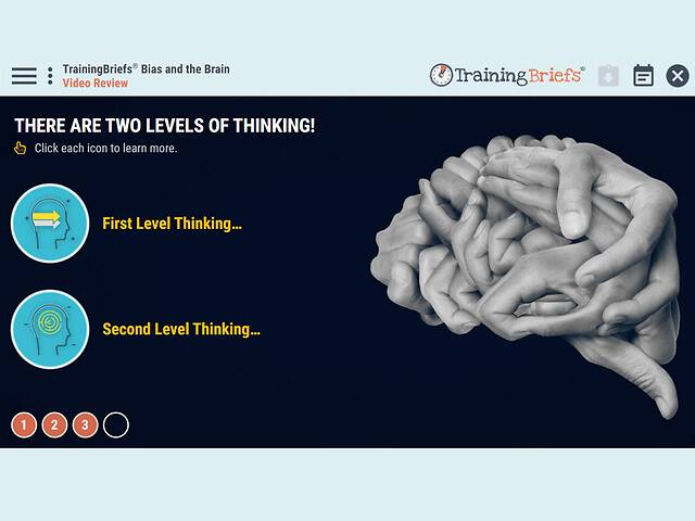 TrainingBriefs® Bias and the Brain