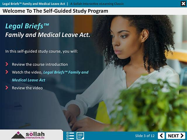 Legal Briefs™ Family and Medical Leave Act - Heifer Project International