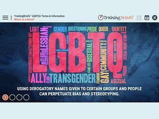 TrainingBriefs® LGBTQ+ Terms & Information