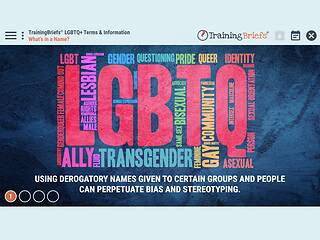 TrainingBriefs™ LGBTQ+ Terms & Information