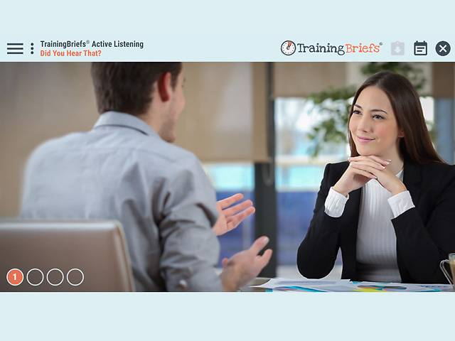 TrainingBriefs® Active Listening