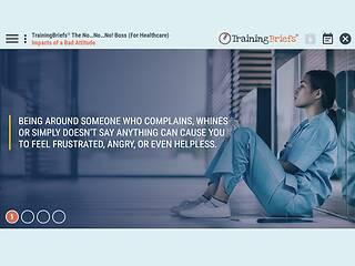 TrainingBriefs® The No…No…No! Boss (For Healthcare)