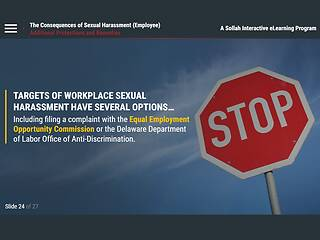 The Consequences of <u>Sexual Harassment</u>™ (DE Employee)