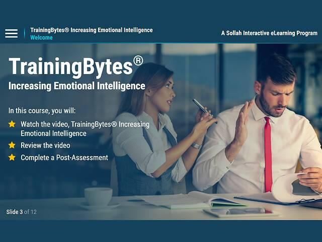TrainingBytes® Increasing Emotional Intelligence