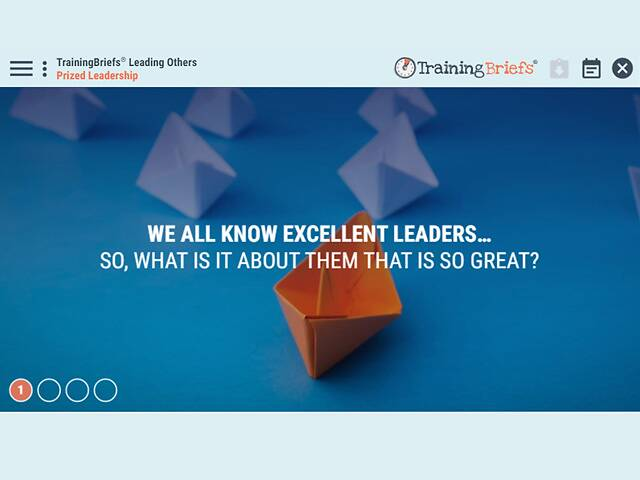 TrainingBriefs® Leading Others