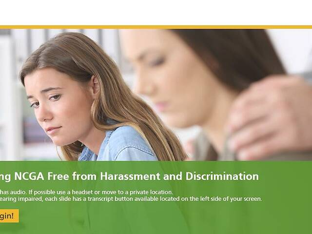 Keeping Your Workplace Free from Harassment and Discrimination (NCGA)