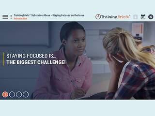 TrainingBriefs® <u>Substance Abuse</u> - Staying Focused on the Issue