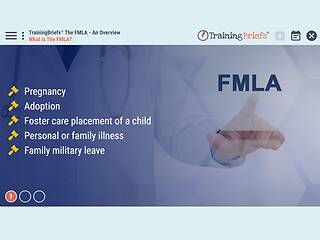 TrainingBriefs™ The FMLA - An Overview