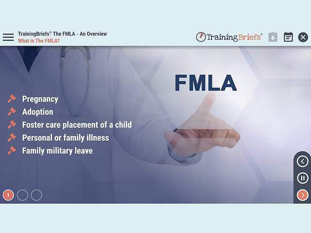 TrainingBriefs® The FMLA - An Overview