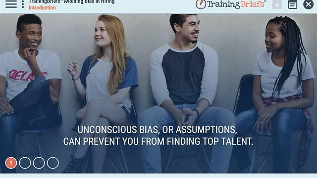 TrainingBriefs® Avoiding Bias in Hiring