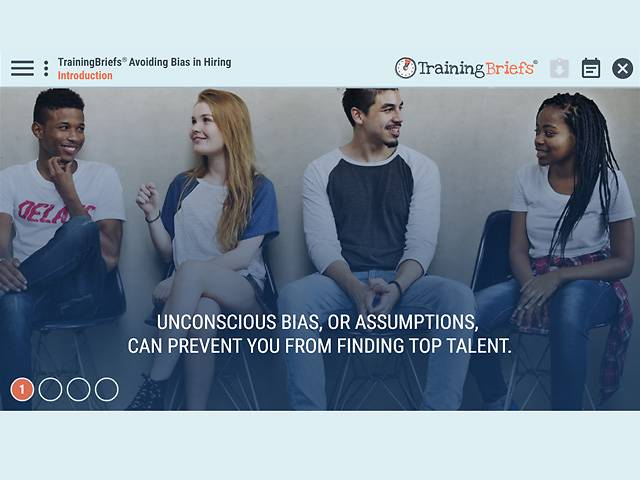 TrainingBriefs® Avoiding Bias in Hiring