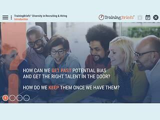TrainingBriefs® <u>Diversity</u> in Recruiting & Hiring