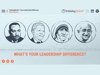 TrainingBriefs® The <u>Leadership</u> Difference