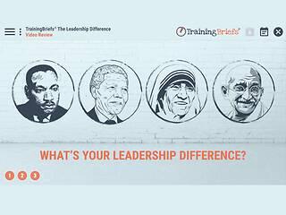 TrainingBriefs® The <u>Leadership</u> Difference