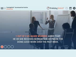 TrainingBriefs™ Accentuate the Positive