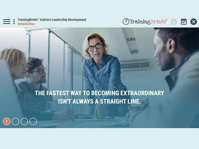 TrainingBriefs® Indirect Leadership Development