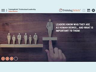 TrainingBriefs™ Professional <u>Leadership</u>