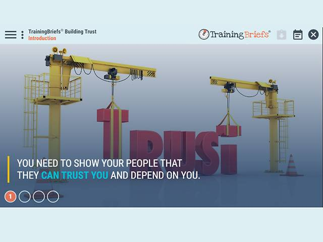 TrainingBriefs™ Building Trust