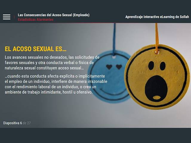 The Consequences of Sexual Harassment™ (NY/NYC Employee) - Spanish Version