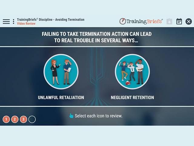 TrainingBriefs® Discipline - Avoiding Termination