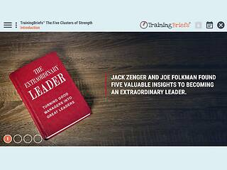 TrainingBriefs® The Five Clusters of Strength